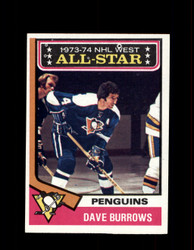 1974 DAVE BURROWS TOPPS #137 PENGUINS *R4666