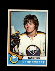 1974 RENE ROBERT TOPPS #142 SABRES *R4926