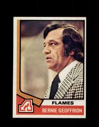 1974 BERNIE GEOFFRION TOPPS #147 FLAMES *G3659