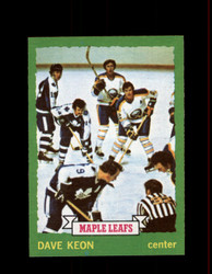 1973 DAVE KEON TOPPS #85 MAPLE LEAFS *G3808