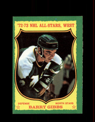 1973 BARRY GIBBS TOPPS #30 NORTH STARS *2527