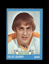 1973 GILLES GILBERT TOPPS #74 BRUINS *R3198