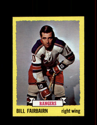 1973 BILL FAIRBAIRN TOPPS #41 RANGERS *3889