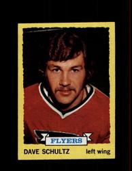 1973 DAVE SCHULTZ TOPPS #149 FLYERS *6985