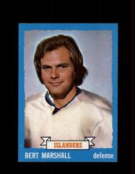 1973 BERT MARSHALL TOPPS #51 ISLANDERS *5458