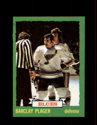 1973 BARCLAY PLAGER TOPPS #47 BLUES *6965