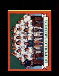 1973 BUFFALO SABRES TOPPS #94 TEAM CARD *R1549