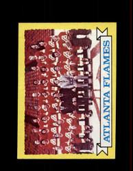 1973 ATLANTA FLAMES TOPPS #92 TEAM CARD *8824