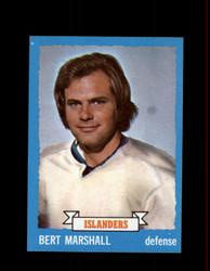 1973 BERT MARSHALL TOPPS #51 ISLANDERS *4577