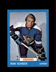 1973 RON SCHOCK TOPPS #113 PENGUINS *9630