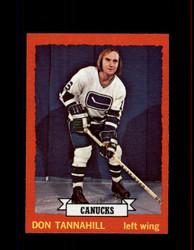 1973 DON TANNAHILL TOPPS #69 CANUCKS *R1553