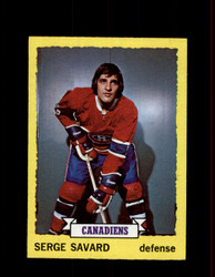 1973 SERGE SAVARD TOPPS #24 CANADIENS *5498