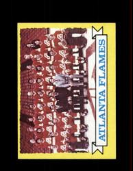 1973 ATLANTA FLAMES TOPPS #92 TEAM CARD *6263