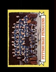 1973 PITTSBURGH PENGUINS TOPPS #104 TEAM CARD *1563