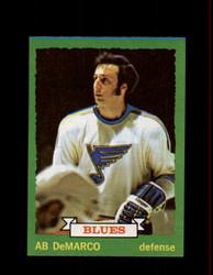 1973 AB DEMARCO TOPPS #118 BLUES *R1130