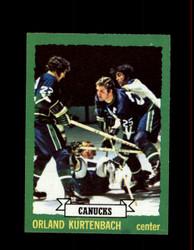 1973 ORLAND KURTENBACH TOPPS #157 CANUCKS *5773