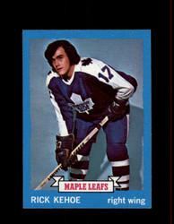 1973 RICK KEHOE TOPPS #179 MAPLE LEAFS *4836