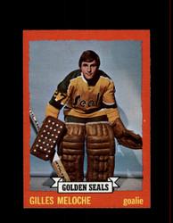 1973 GILLES MELOCHE TOPPS #175 GOLDEN SEALS *G6358