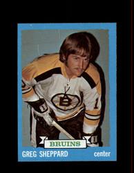 1973 GREG SHEPPARD TOPPS #8 BRUINS *9577