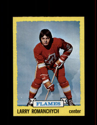 1973 LARRY ROMANCHYCH TOPPS #185 FLAMES *R5539