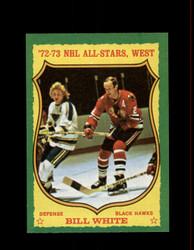 1973 BILL WHITE TOPPS #180 BLACK HAWKS *R4549