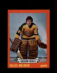 1973 GILLES MELOCHE TOPPS #175 GOLDEN SEALS *8649