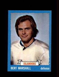 1973 BERT MARSHALL TOPPS #51 ISLANDERS *7193
