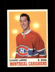1970 CLAUDE LAROSE TOPPS #56 CANADIENS *G6155