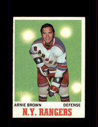 1970 ARNIE BROWN TOPPS #66 RANGERS *R4890