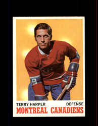1970 TERRY HARPER TOPPS #53 CANADIENS *R3520