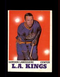 1970 GORDAN LABOSSIERE TOPPS #38 KINGS *5534
