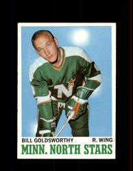 1970 BILL GOLDSWORTHY TOPPS #46 NORTH STARS *R4132