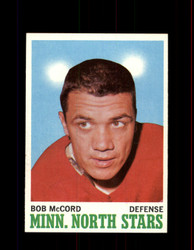 1970 BOB MCCORD TOPPS #41 NORTH STARS *R4051