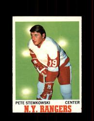 1970 PETE STEMKOWSKI TOPPS #25 RANGERS *R4973