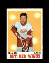 1970 BILLY DEA TOPPS #30 RED WINGS *G6262