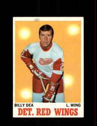 1970 BILLY DEA TOPPS #30 RED WINGS *G6329