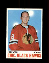 1970 JIM PAPPIN TOPPS #13 BLACK HAWKS *G6987