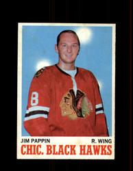 1970 JIM PAPPIN TOPPS #13 BLACK HAWKS *R3533