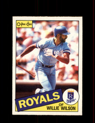 1985 WILLIE WILSON OPC #6 O-PEE-CHEE ROYALS *4317