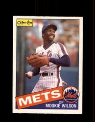 1985 MOOKIE WILSON OPC #11 O-PEE-CHEE METS *R5057