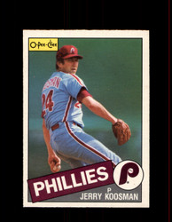 1985 JERRY KOOSMAN OPC #15 O-PEE-CHEE PHILLIES *R5076