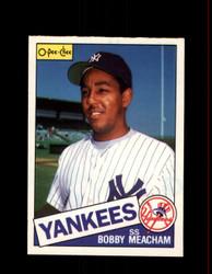 1985 BOBBY MEACHAM OPC #16 O-PEE-CHEE YANKEES *R5072
