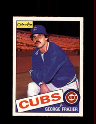 1985 GEORGE FRAZIER OPC #19 O-PEE-CHEE CUBS *R1068