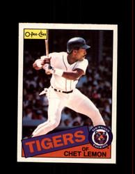 1985 CHET LEMON OPC #20 O-PEE-CHEE TIGERS *8722