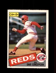 1985 DAVE CONCEPCION OPC #21 O-PEE-CHEE REDS *3746