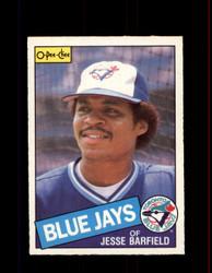 1985 JESSE BARFIELD OPC #24 O-PEE-CHEE BLUE JAYS *4900