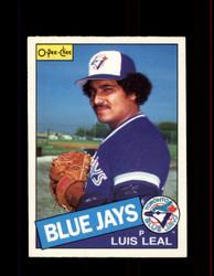 1985 LUIS LEAL OPC #31 O-PEE-CHEE BLUE JAYS *R1100