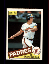 1985 GRAIG NETTLES OPC #35 O-PEE-CHEE PADRES *3168