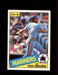 1985 STEVE HENDERSON OPC #38 O-PEE-CHEE MARINERS *7530
