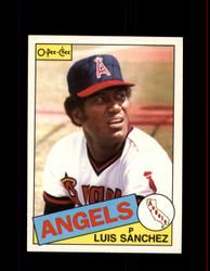 1985 LUIS SANCHEZ OPC #42 O-PEE-CHEE ANGELS *7471